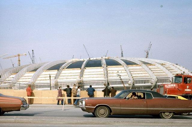 10 faits et 12 photos sur la construction du stade - Piscine du stade olympique ...
